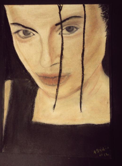 Angelina Jolie by asyikin